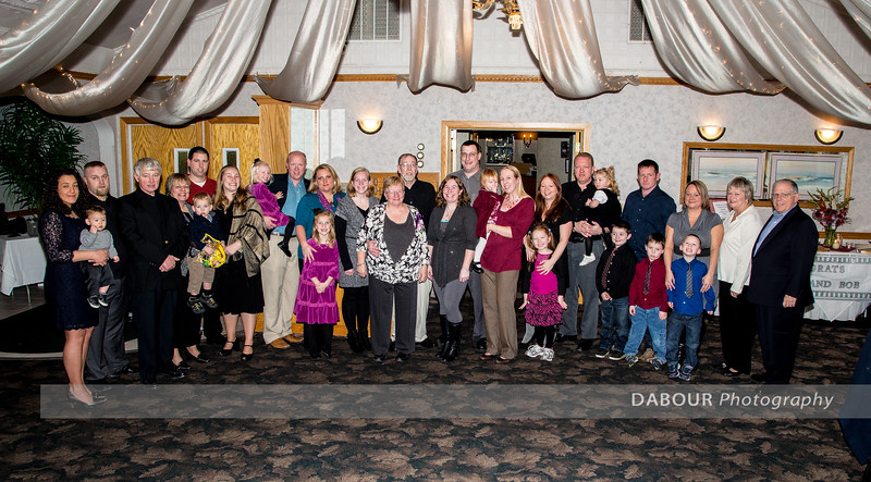 Sally & Bob celebrate their 40th wedding anniversary with friends and family