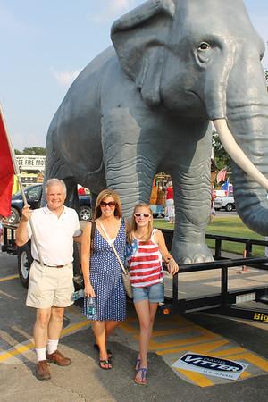 Republican Party in Kenilworth Parade 7-3-12