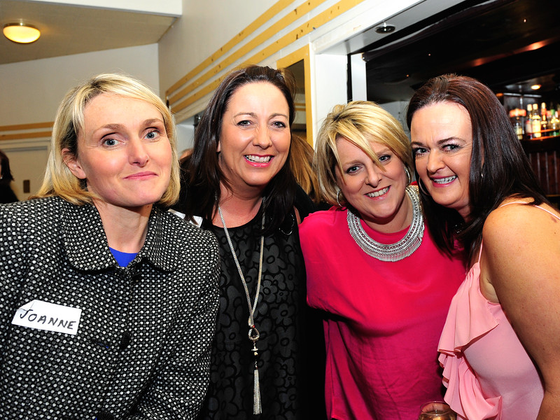 L to R: Joanne Glynn, Nicola Watkins, Grainne Conway and Brenda Faughnan.<br /> Phtograph: Margaret Brown<br /> <br /> All ex Aer Lingus Res staff were invited to a fundraiser for Haiti held in ALSAA Function Room on Friday 20 November 2015 at 8pm.  €10 p/p included raffle ticket, and all proceeds went to Haiti. Even if you only visited Res, you were welcome to come along and meet old friends. For further information contact Noeline Quirke.