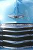 Radiator grill of 1948 Chevrolet Pickup Truck at White Waltham Retro Festival 2014