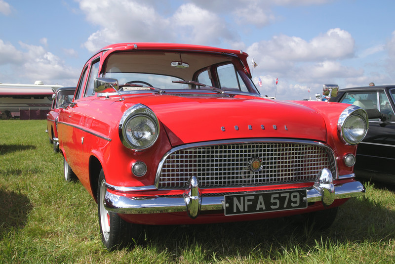 1960s Ford Consul at White Waltham Retro Festival 2014