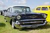 1957 Chevrolet Bel Air at White Waltham Retro Festival 2014