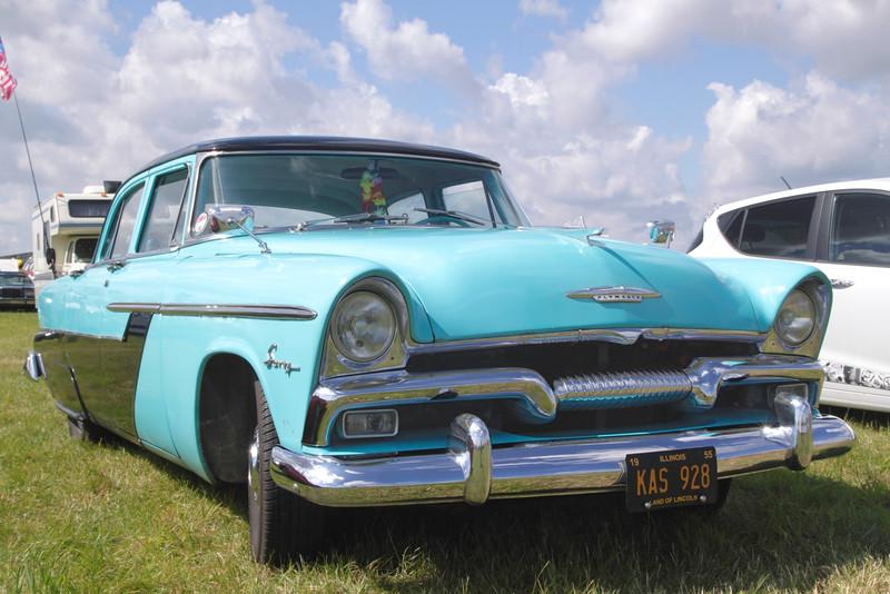 1955 Plymouth Savoy at White Waltham Retro Festival 2014