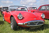 1960 Daimler Dart SP 250 at White Waltham Retro Festival 2014