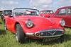 1960 Daimler Dart SP 250 at White Waltham Retro Festival 2014