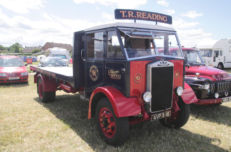 Vintage Albion truck at White Waltham Retro Festival 2013