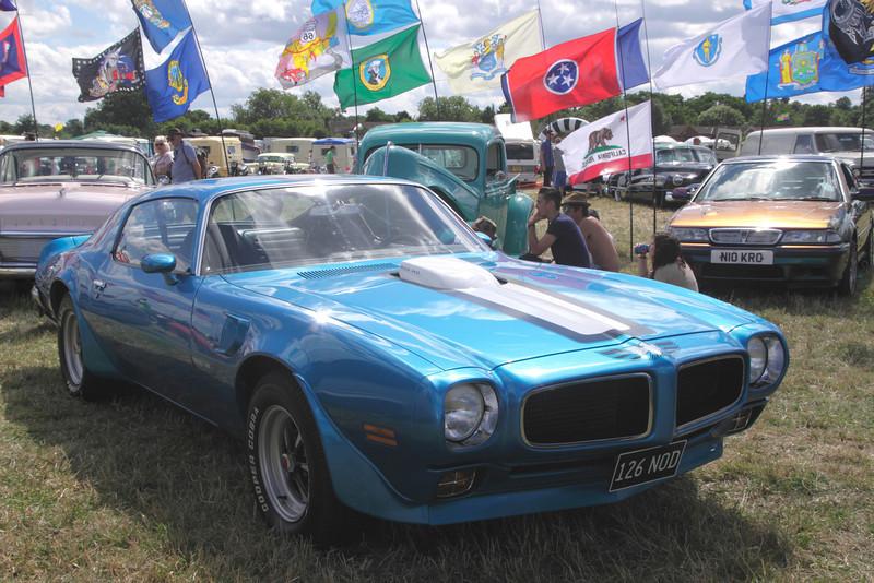 1970s Pontiac Firebird at White Waltham Retro Festival 2013