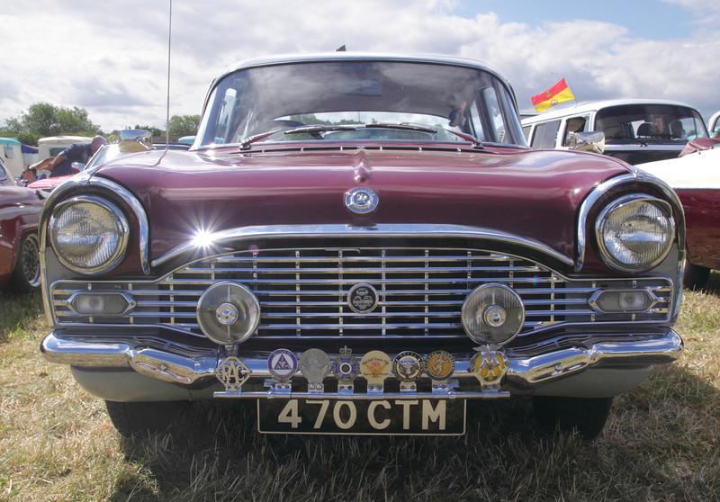 1960s Vauxhall Cresta at White Waltham Retro Festival 2013