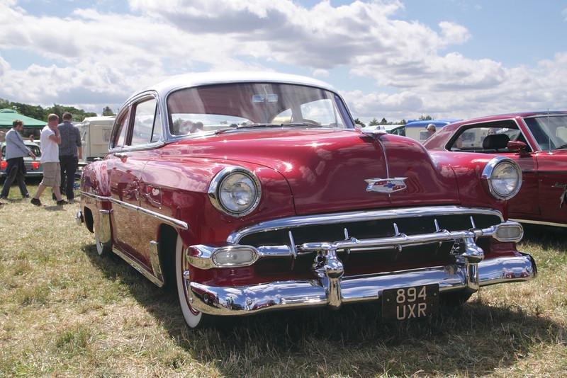 1950s Chevrolet Bel Air at White Waltham Retro Festival 2013