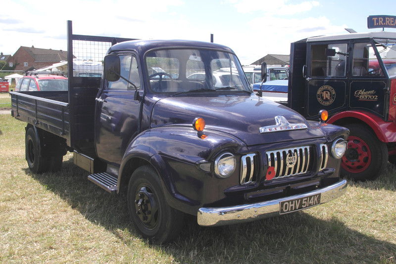 Vintage Bedord truck at White Waltham Retro Festival 2013