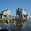 Surfside Beach...houses are leaning all along here