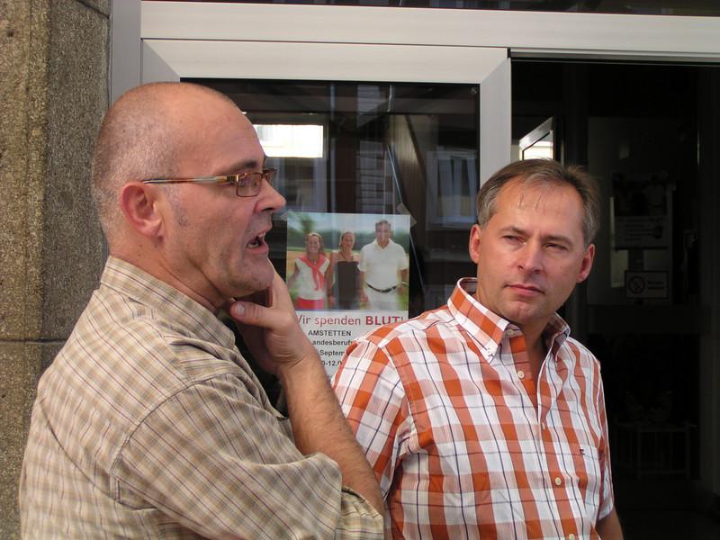 Andi und Gerhard
