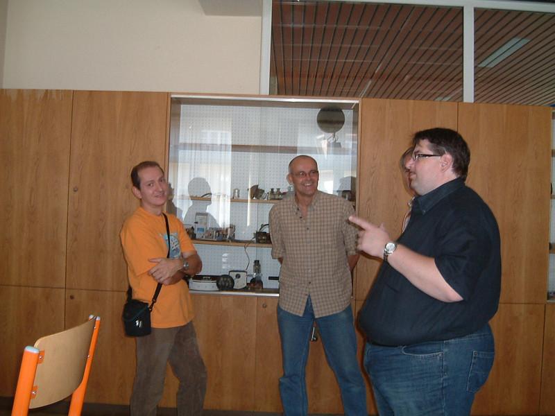 Hannes, Andi und Schmolli