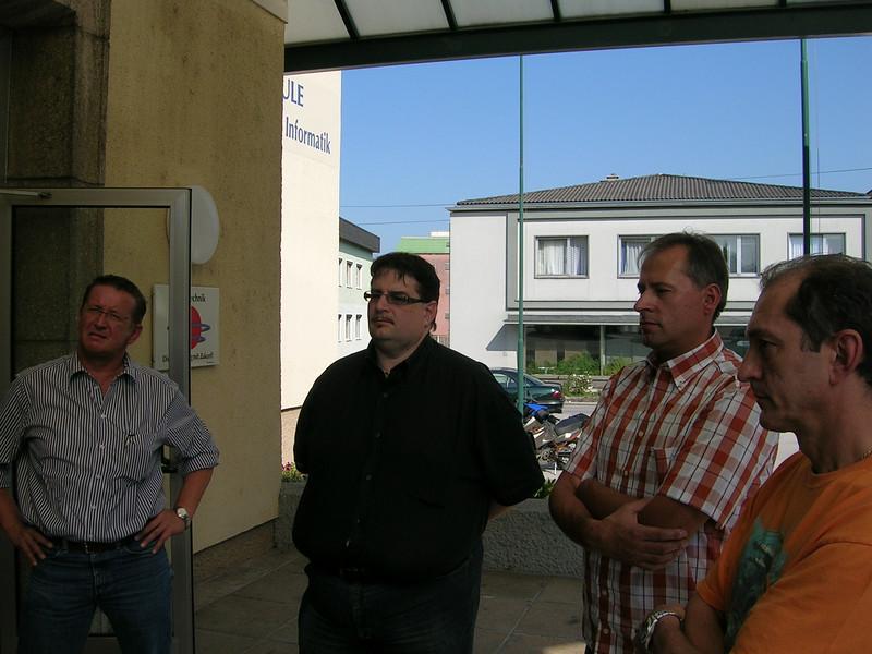 Hermann Gruber Schmoll Johann Wolf Gerhard Predler Hannes vor der Schule