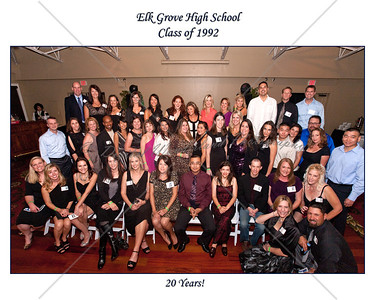 Elk Grove High School 20 Year Reunion