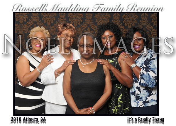 2016 Russell-Maulding Family Reunion