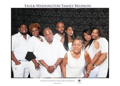 2018 Faulk - Washington Family Reunion