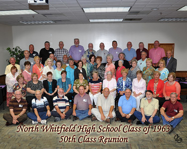 Northwest Whitfiled High School Class of 1963 50th Reunion