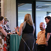 Class of 1993 meets in Brush Library for the 25th year reception