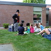 The Mr. Magichead performance for evening childcare on Saturday of Reunion Weekend 2018.