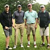 Bryan Thompson '87, Mark Rush '86, Tim Struthers '87, Bryan Thompson's dad P'87.