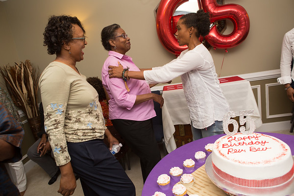 Rev. Bev's 65 Surprise Party