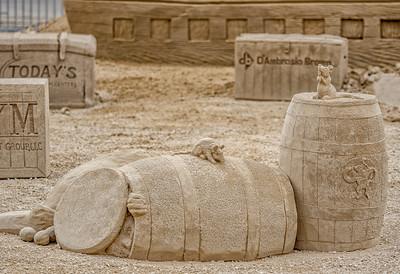 Revere Beach Sand Sculpture Festisval