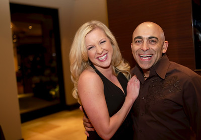 Reza Karamooz  Lucky Jets Chief Executive Officer  Phone (480) 205-5805 with Lindsy in this photograph
