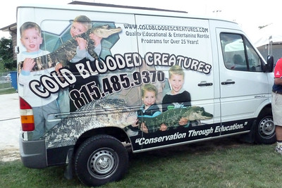 Cold Blooded creatures truck