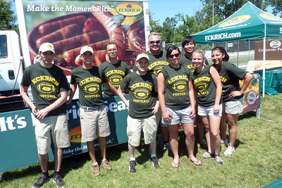 Eckrich sausage team Ribfest 2011
