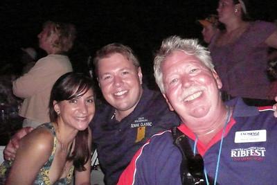 Anne, Jeff & Me Ribfest 2011