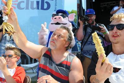 Ribfest 2017 - Naperville, Illinois - Corn Eating Contest