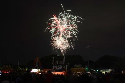 Ribfest 2017 - Naperville, Illinois - Fireworks