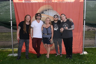 Ribfest 2017 - Naperville, Illinois - Meet & Greet - Shinedown