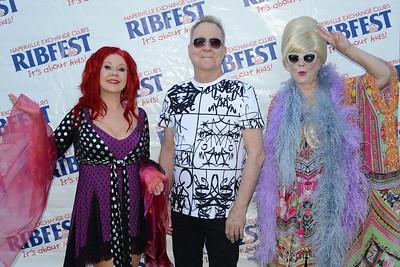 Ribfest 2017 - Naperville, Illinois - Meet & Greet - The B-52's