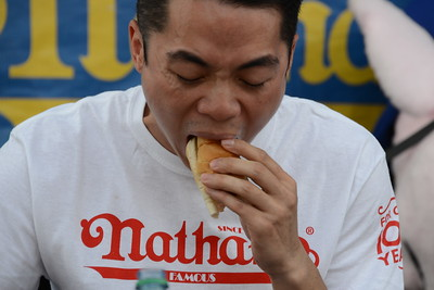 Ribfest 2017 - Naperville, Illinois - Nathan's Hot Dog Eating Contest