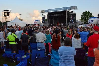 Ribfest 2017 - Naperville, Illinois - National Anthem - June 30, 2017