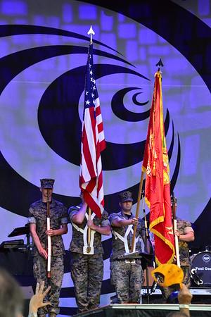 Ribfest 2017 - Naperville, Illinois - National Anthem - July 1, 2017