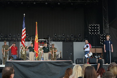 Ribfest 2017 - Naperville, Illinois - National Anthem - June 30, 2017