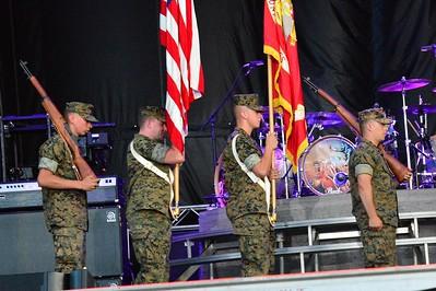 Ribfest 2017 - Naperville, Illinois - National Anthem - July 2, 2017
