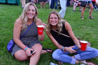Ribfest 2017 - Naperville, Illinois - People Enjoying Ribfest