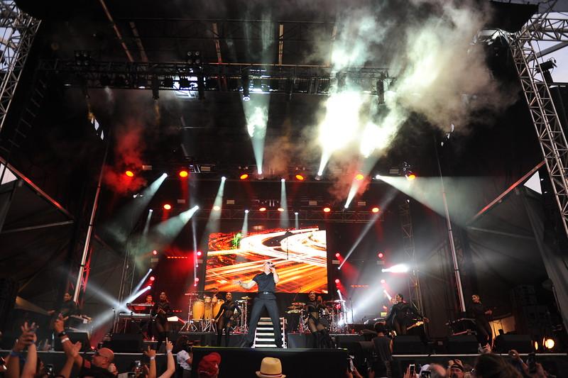 Ribfest 2018 - Naperville, Illinois - Band - Pitbull