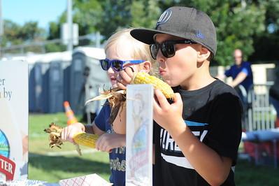 Ribfest 2018 - Naperville, Illinois - Corn Eating Contest