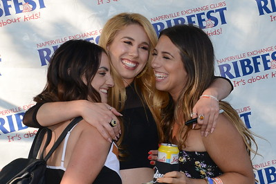 Ribfest 2018 - Naperville, Illinois - Meet and Greet with Haley Reinhart