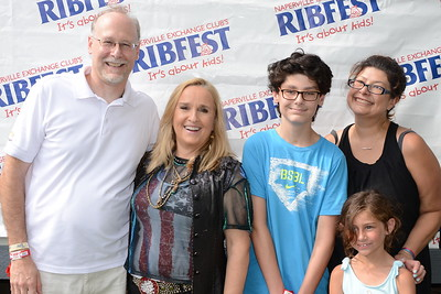 Ribfest 2018 - Naperville, Illinois - Meet and Greet with Melissa Etheridge