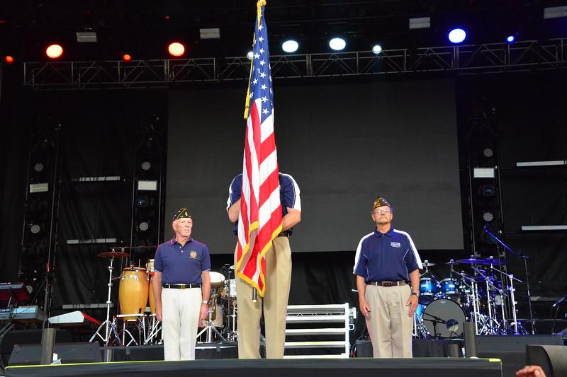 Ribfest 2018 - Naperville, Illinois - National Anthem