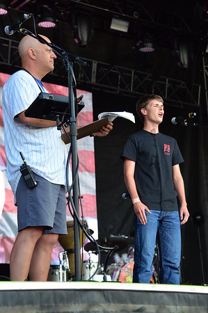 Ribfest 2018 - Naperville, Illinois - National Anthem