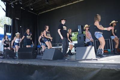 Ribfest 2018 - Naperville, Illinois - Saddle-Up Dancers