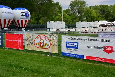 Ribfest 2018 - Naperville, Illinois - Signage