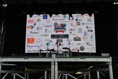 Ribfest 2019 - Naperville, Illinois - Signage